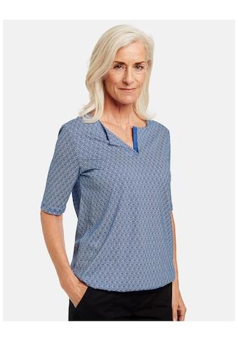 GERRY WEBER T - Shirt 1/2 Arm »Shirt mit Minimaldessin« kaufen
