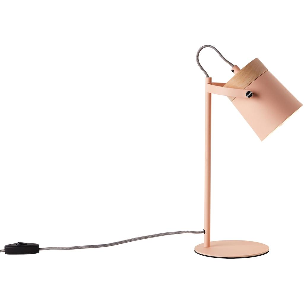 Lüttenhütt Tischleuchte »Hilla«, E14, rosa, E14, max. 25W, H: 36 cm