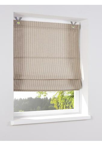 Raffrollo mit dekorativem Streifen - Dessin kaufen