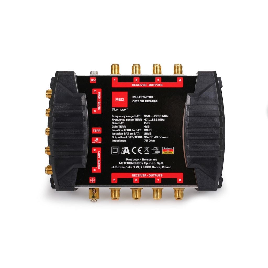 Opticum Red SAT-Verteiler, »Multischalter OMS 5/8 Pro-TRQ«