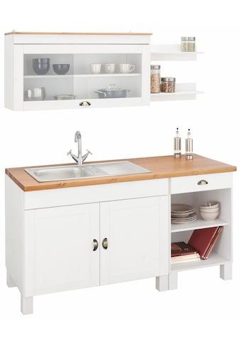 Home affaire Küchenzeile »Oslo«, ohne E-Geräte, Breite 150 cm, mit 35 mm starker... kaufen