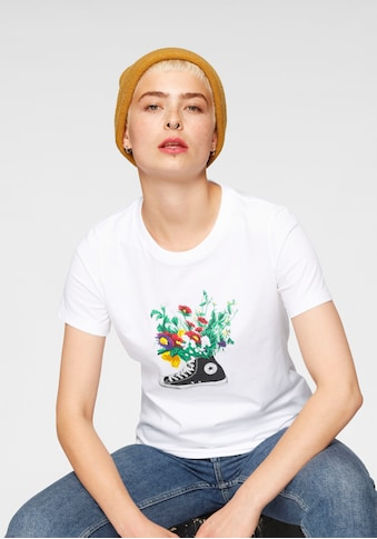 Converse T-Shirt »IN BLOOM GRAPHIC TEE« kaufen