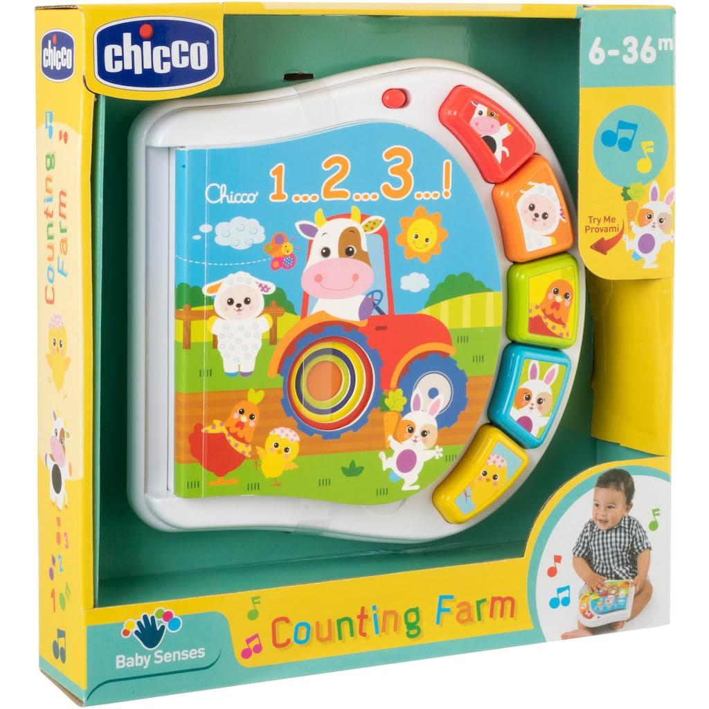 Chicco Lernspielzeug »Zahlen Farmbuch«