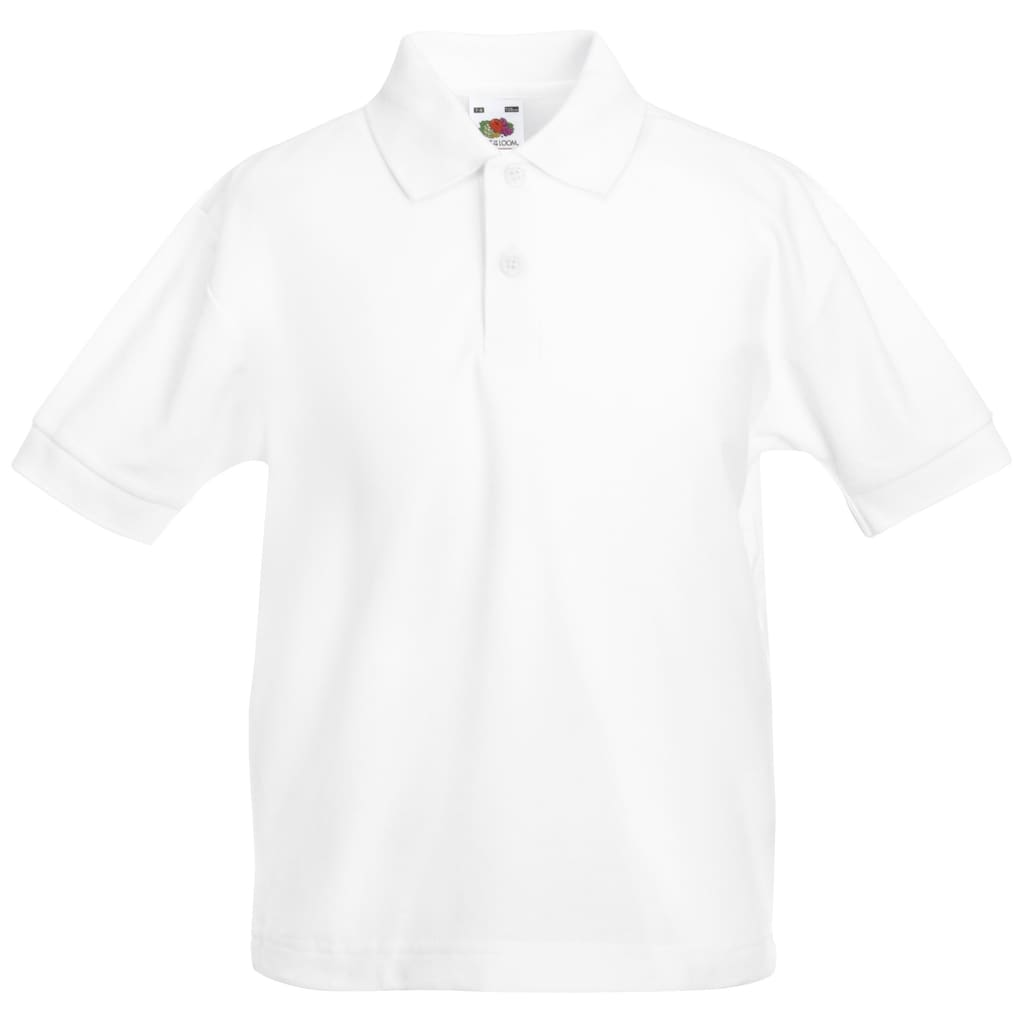 Fruit of the Loom Poloshirt »Kinder Polo Shirt, Kurzarm«