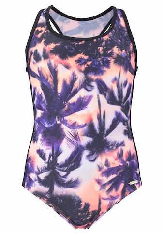 Sunseeker Badeanzug, mit Palmendruck kaufen