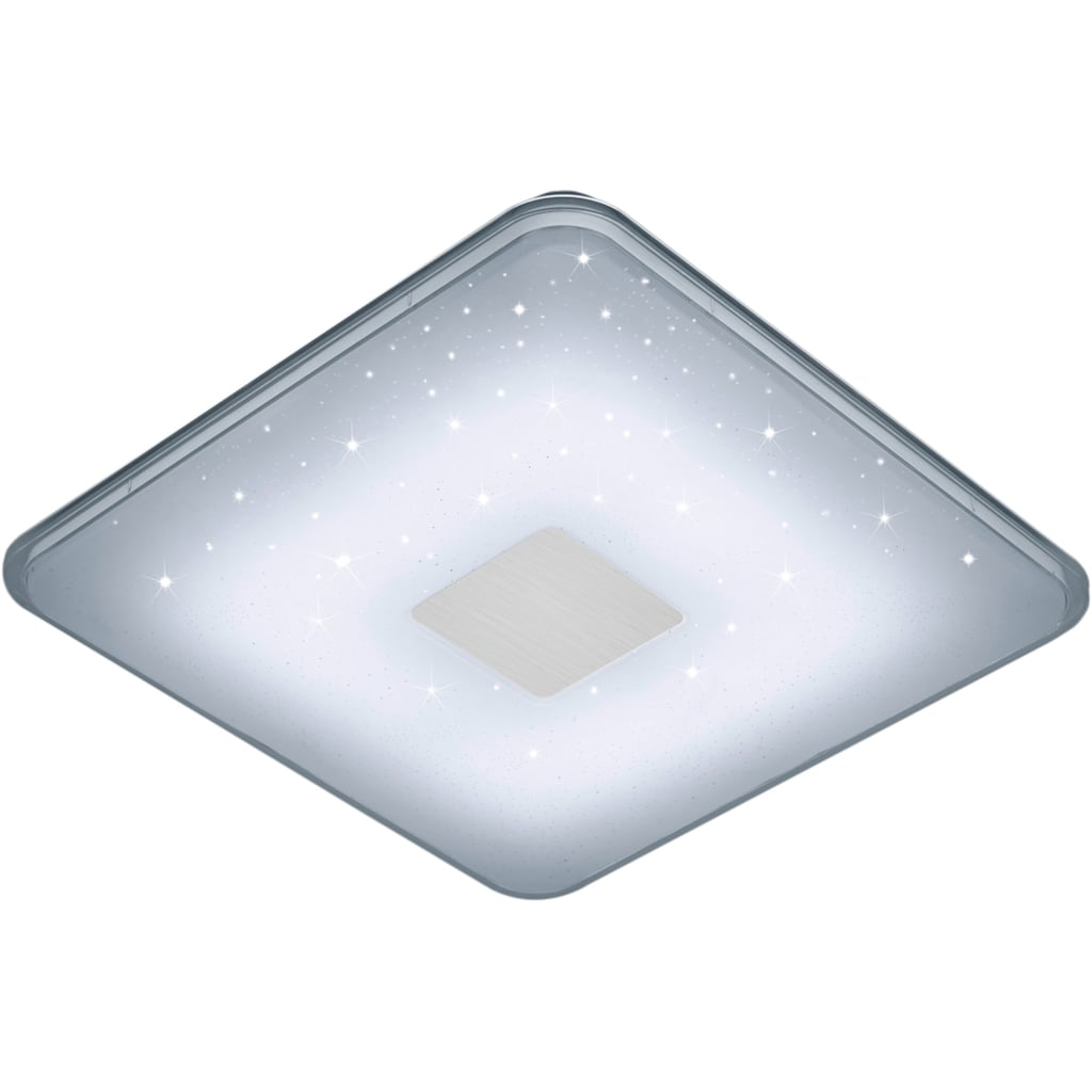 TRIO Leuchten LED Deckenleuchte »SAMURAI«, LED-Board, Neutralweiß-Tageslichtweiß-Warmweiß-Kaltweiß, LED Deckenlampe
