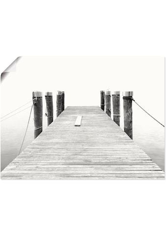 Artland Wandbild »Stille II«, Brücken, (1 St.), in vielen Größen & Produktarten... kaufen
