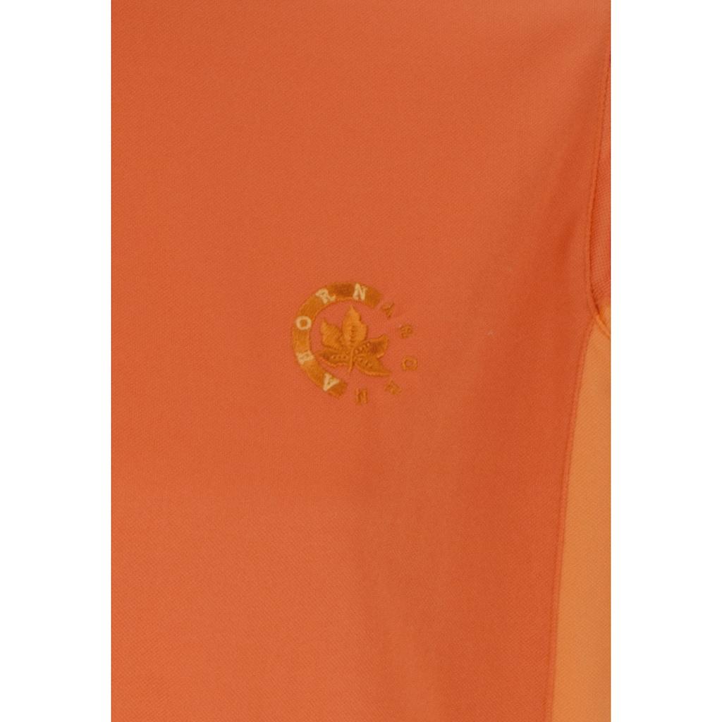 AHORN SPORTSWEAR Funktionsshirt mit Zippfunktion