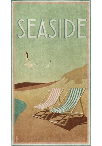Seahorse Strandtuch »Blackpool«, (1 St.), mit Vintage Aufdruck kaufen