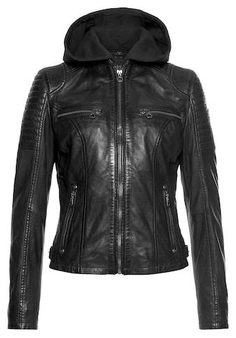 Gipsy Bikerjacke »SAMINA«, 2-in-1-Jacke - mit abnehmbarem Kapuzen-Sweat-Einsatz kaufen