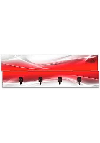 Artland Garderobenpaneel »Kreatives Element Rot für Ihr Art-Design«, platzsparende... kaufen