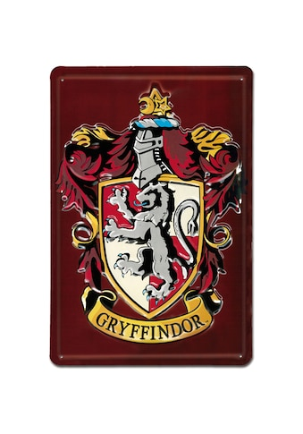 LOGOSHIRT Blechschild mit tollem Wappen - Print »Harry Potter Gryffindor Classic« kaufen