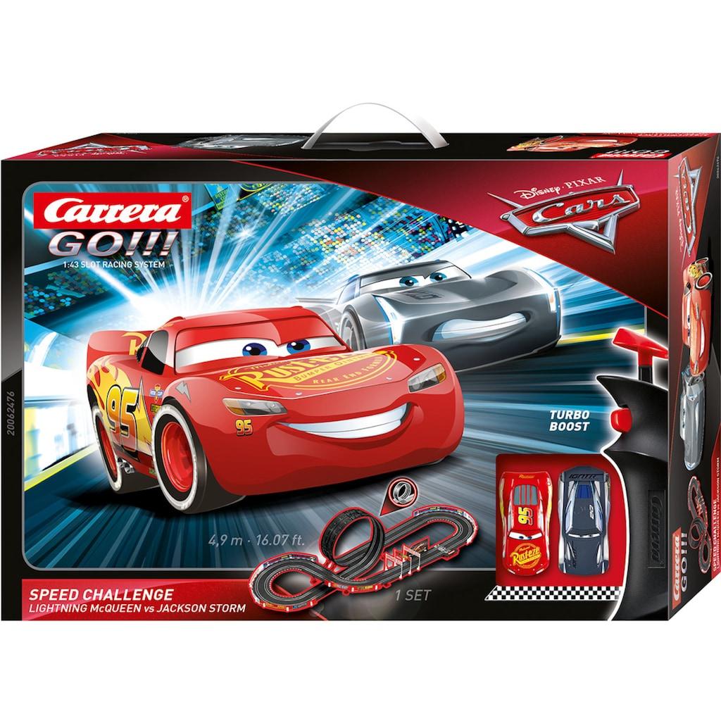 Carrera® Autorennbahn »Carrera GO!!! - Disney·Pixar Cars - Speed Challenge«