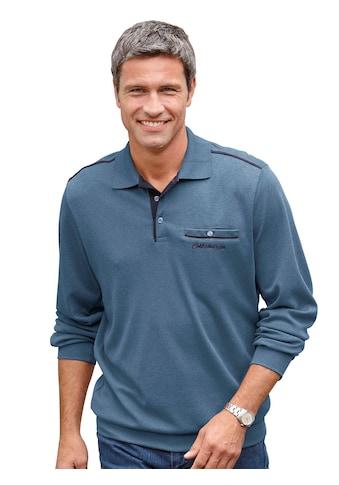 Marco Donati Sweatshirt mit Brusttasche kaufen