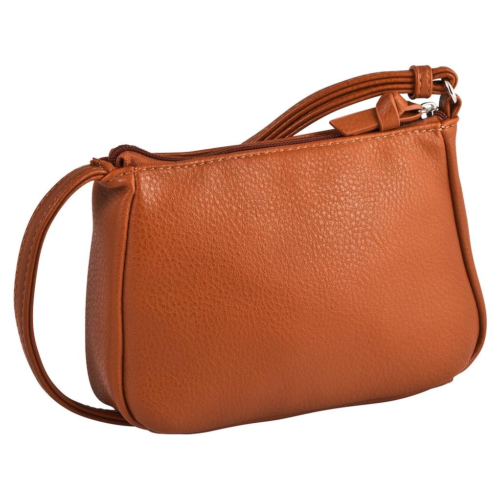 TOM TAILOR Denim Mini Bag »CILIA«, crossbody mit verstellbarem Umhängeriemen