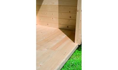 KARIBU Fußboden für Gartenhäuser für Sockelmaß 370x370 cm kaufen