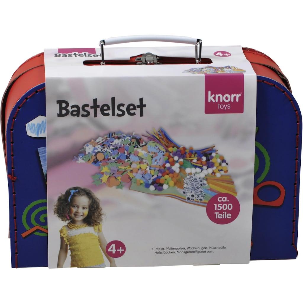 Knorrtoys® Kreativset »Bastelkoffer groß«, (Set, 1500 tlg.)