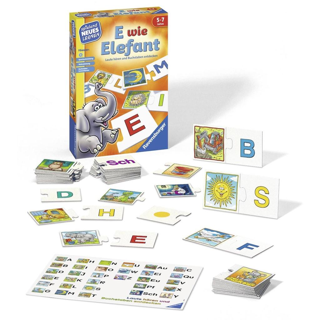 Ravensburger Spiel »E wie Elefant«, Made in Europe, FSC® - schützt Wald - weltweit