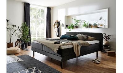 ATLANTIC home collection Boxspringbett, mit 7-Zonen-Taschen-Federkernmatratze und... kaufen