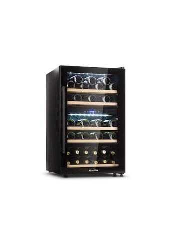 Klarstein Weinkühlschrank 2 Zonen 135 L 41 Flaschen »Barossa 40D« kaufen
