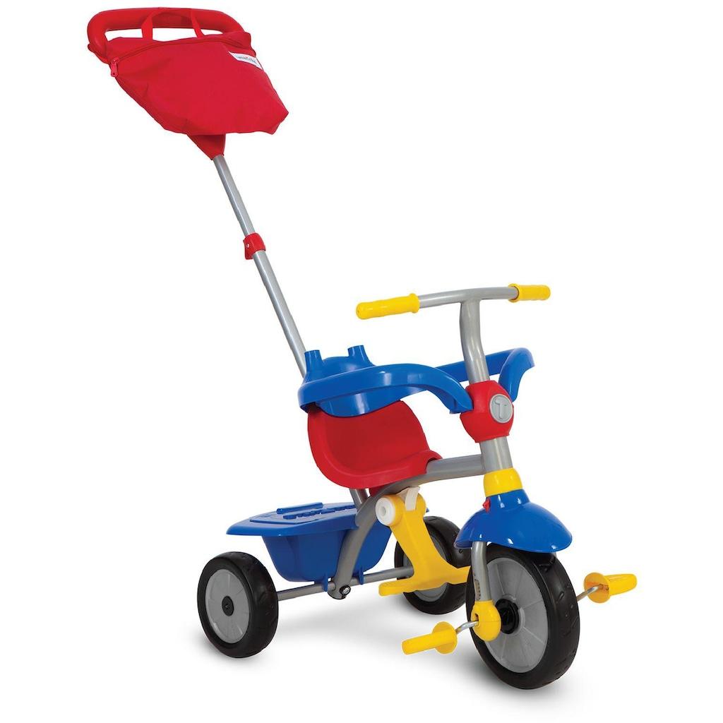 smarTrike® Dreirad »Zip Plus, blau rot«, mit hoher Rückenlehne