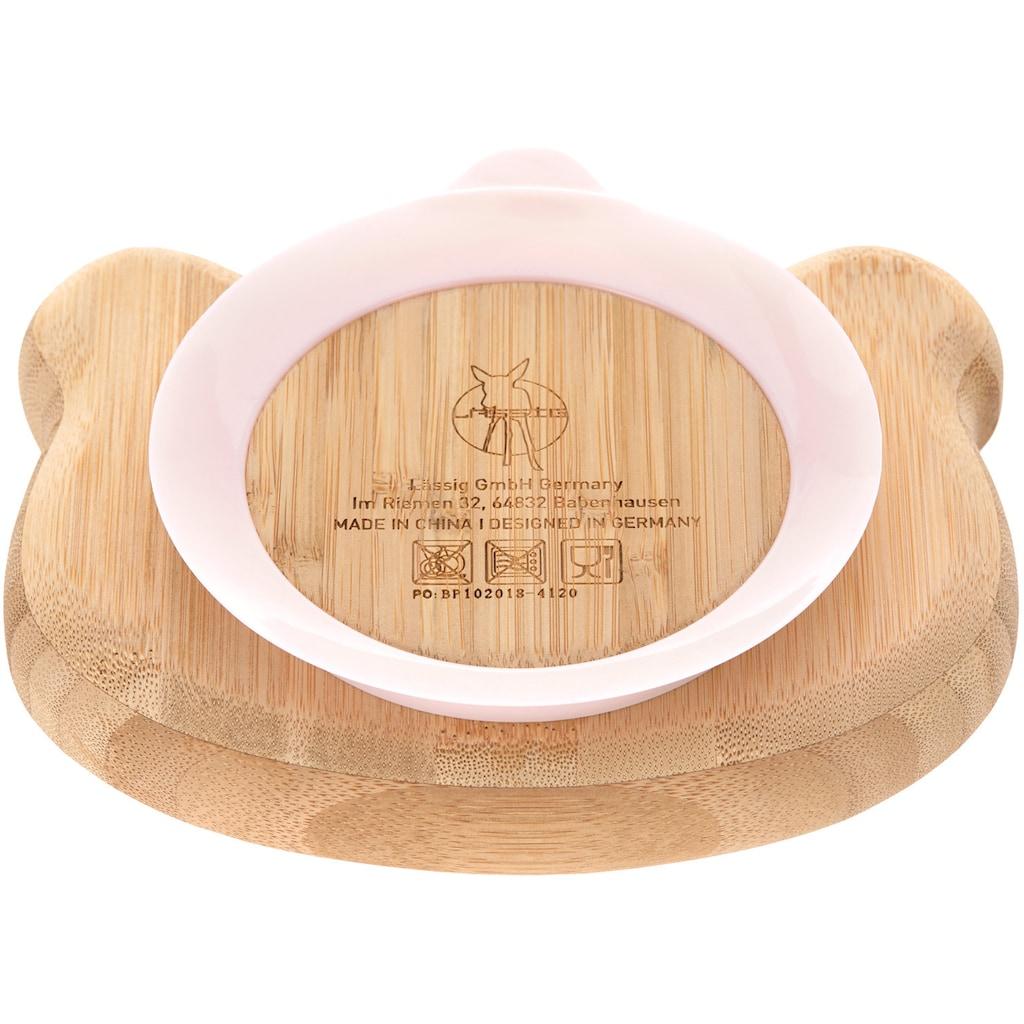 LÄSSIG Teller »Little Chums, Mouse«, mit Saugnapf