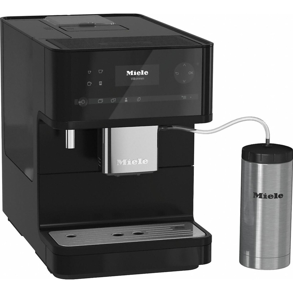 Miele Kaffeevollautomat »»CM 6350 BlackEdition««