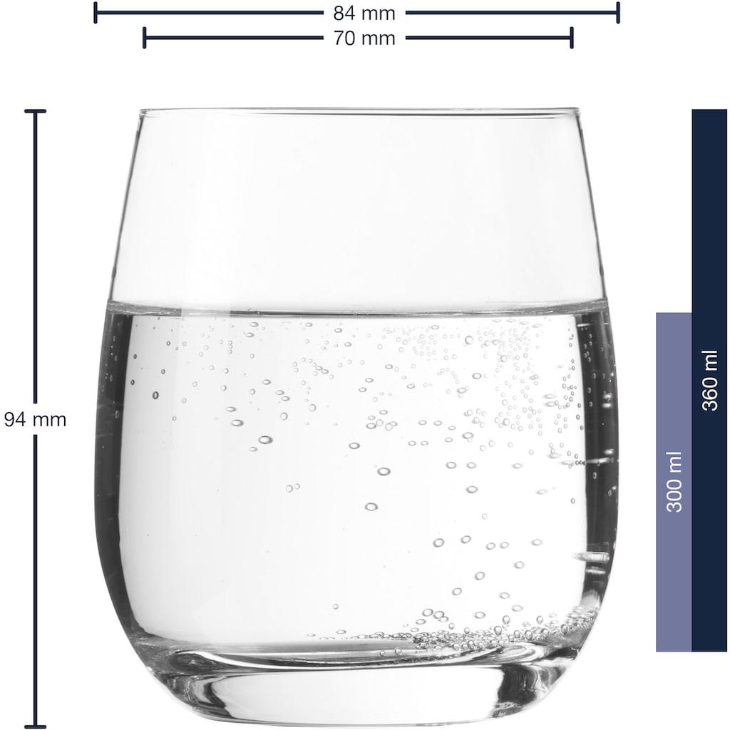 LEONARDO Glas »Tivoli«, (Set, 6 tlg.), 360 ml, 6-teilig