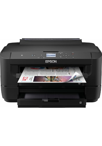 Epson »WorkForce WF - 7210DTW« Tintenstrahldrucker (WLAN (Wi - Fi),LAN (Ethernet),NFC) kaufen