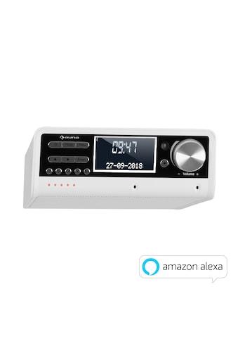 Auna Küchenradio Alexa-VoiceControl Spotify BT weiß kaufen