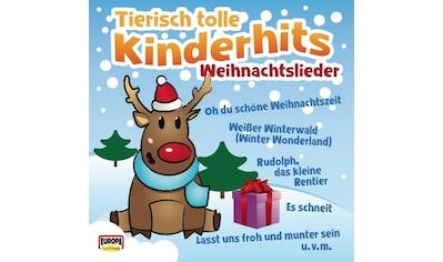 Musik - CD Tierisch Tolle Kinderhits - Weihnachtslieder / KINDERLIEDERBANDE, (1 CD) kaufen