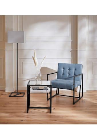 Guido Maria Kretschmer Home&Living Sessel »Silwai«, mit schönem Metallgestell und... kaufen