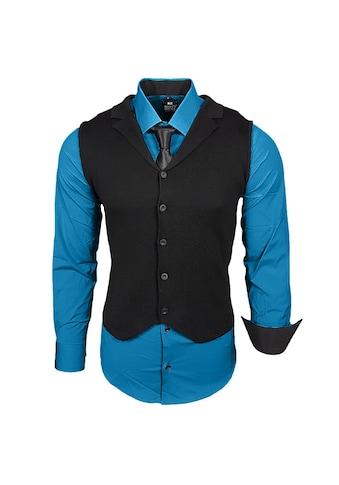 Rusty Neal Hemdenset bestehend aus Hemd, Weste und Krawatte kaufen