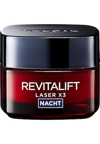 L'ORÉAL PARIS Nachtcreme »RevitaLift Laser X3 Nachtpflege« kaufen