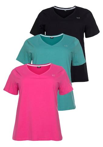 H.I.S T-Shirt »Essential-Basics«, Große Größen kaufen