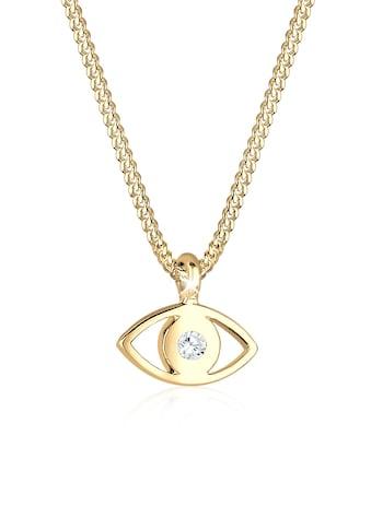 Elli Collierkettchen »Evil Eye Kristalle 925 Sterling Silber« kaufen