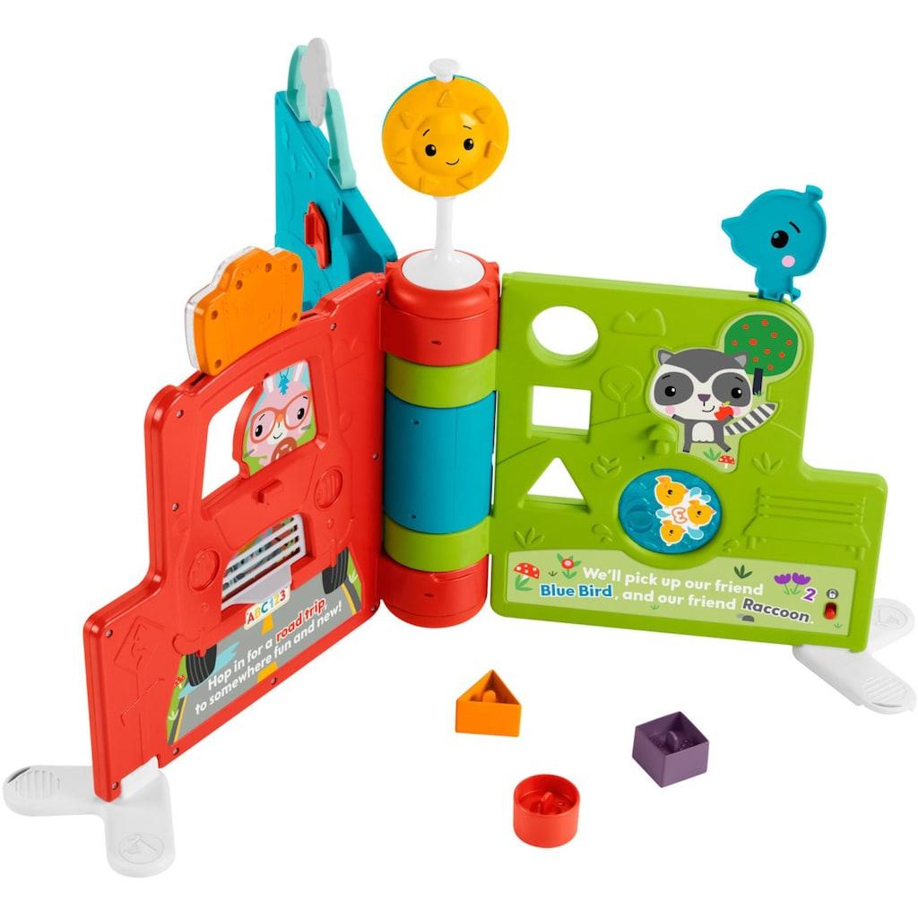 Fisher-Price® Lernspielzeug »Sitz & Steh Erlebnisbuch«, mit Musik