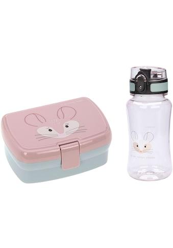 Lässig Lunchbox »About Friends, Chinchilla«, (Set, 2 tlg.), mit Trinkflasche kaufen