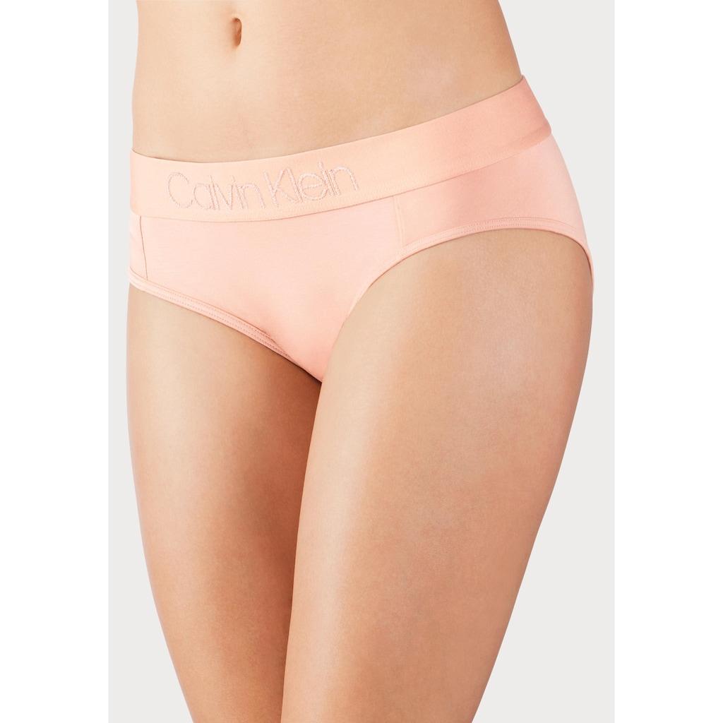 Calvin Klein Hipster »TONAL LOGO«, mit farblich passendem Logobündchen