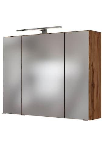 HELD MÖBEL Spiegelschrank »Baabe«, Breite: 80 cm, mit LED - Beleuchtung kaufen