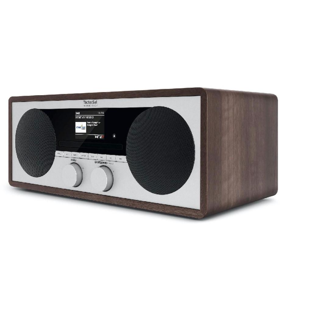 TechniSat Digitalradio (DAB+) »DIGITRADIO 451 CD IR«, (WLAN-Bluetooth-AVRCP Bluetooth Internetradio 30 W)