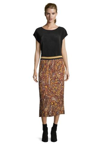 Betty Barclay Plisseerock »mit Muster« kaufen
