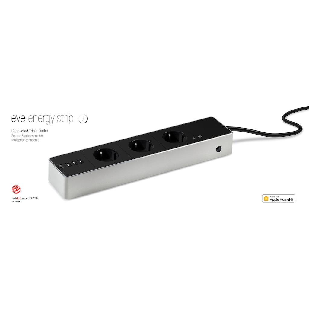 EVE Steckdosenleiste »Energy Strip«, (LED-Statusanzeige Überspannungsschutz)