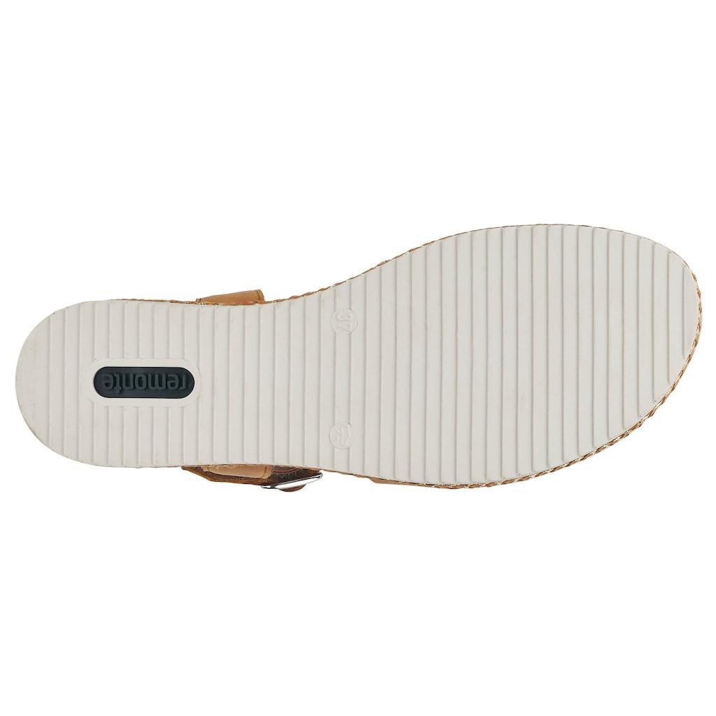 Remonte Sandalette, mit überkreuzten Riemchen