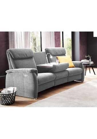 DELAVITA Sofa »Turin«, mit integrierter Tischablage, Leuchte und USB-Ladestation,... kaufen