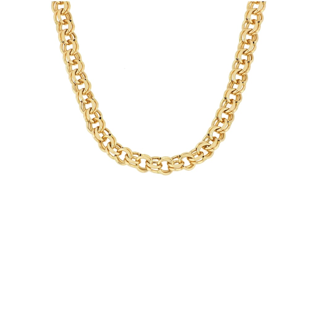 Firetti Goldkette »Garibaldikette, glanz, diamantiert«