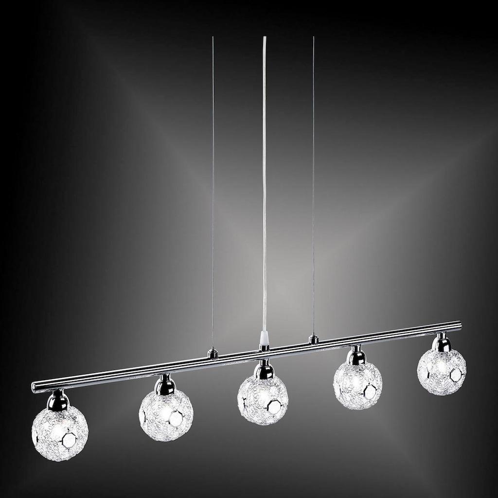 Leuchten Direkt Pendelleuchte »JOFE«, G9, Warmweiß