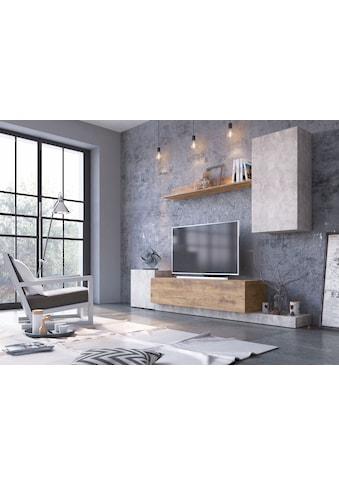 my home Wohnwand »Rimini«, (Set, 4 tlg.) kaufen