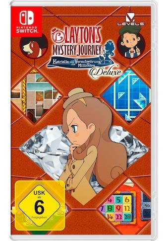 Layton's Mystery Journey: Katrielle und die Verschwörung der Millionäre Deluxe Nintendo Switch kaufen