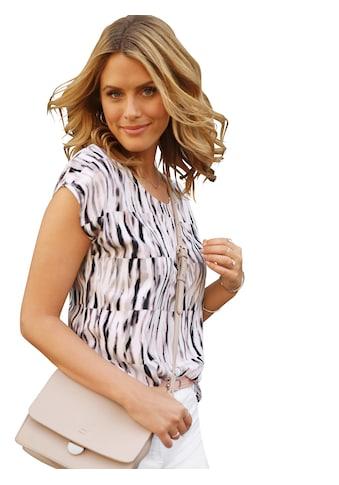 Classic Basics Bluse im verträumten Aquarellstreifen - Dessin kaufen